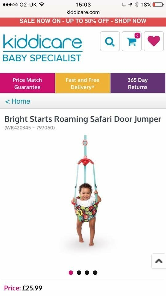 Baby Door Bouncer / Jumper - NEW & UNUSED
