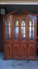 Queen Anne China Display Cabinet Greenacre Bankstown Area Preview