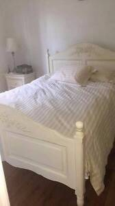 White Vintage Bed Head Earlwood Canterbury Area Preview