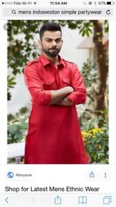 Indian pakistani Mens every event clothing on rent kurta Sherwan