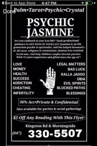 Psychic Jasmine- Free Question Now!