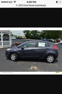 2013 Ford Fiesta lease takeover