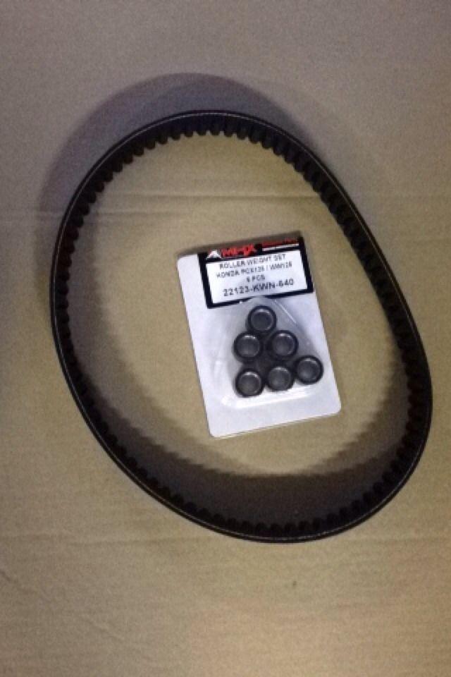 Honda PCX125 PCX 125 WW125 Drive Belt & Roller Set 2010 2012 2013 2014 2015