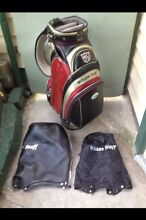 WILSON STAFF GOLF BAG / BUGGY BAG & COVERS Preston Darebin Area Preview