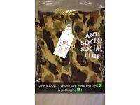 Bape x anti social social club jacke