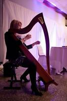 Harp and/or piano music