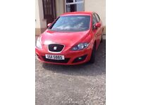 Red Seat Leon