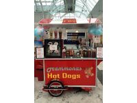 American hotdog cart for sale