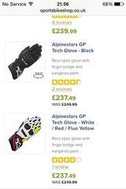 ALPINESTARS GP TECH 2016 gloves