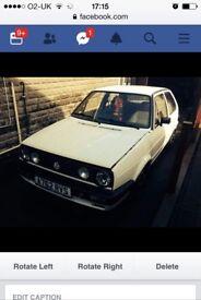1984 3 door Mk2 Golf