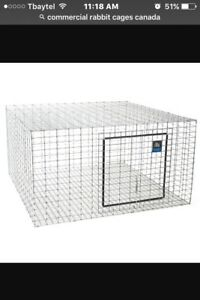 Wanted:: commercial rabbit cages