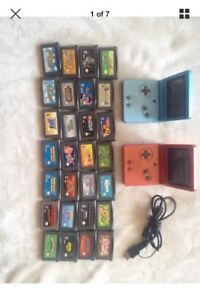 Gameboy advance sp console + 28 games