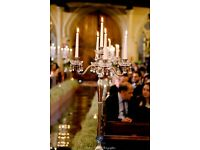 Candelabras,mirror plates,vases and much more for your party decoration (hire only)