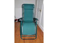 Green Lafuma recliner chair