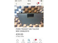 Ford transit front glove box