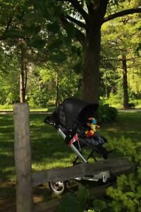 peg perego skate stroller system with bassinet and carseat