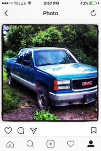 94 GMC 1500 4x4 trade for dirt bike