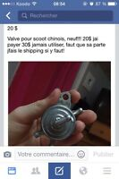 VALVE SCOOTER CHINOIS