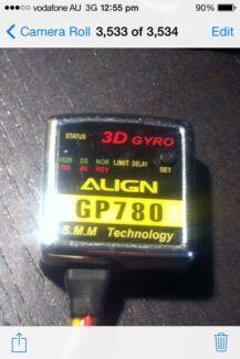 Rc heli align trex gyro gp780