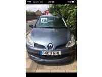 Renault Clio 1..4 petrol 5 door 07 Reg