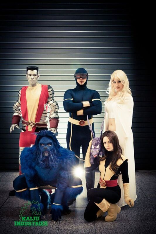 Marvel cosplayers Image via: HollySocks Cosplay Photography by Kaiju Industries