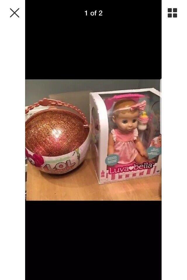 LOL Surprise Big Surprise Gold Ball + Luvabella Blonde £220