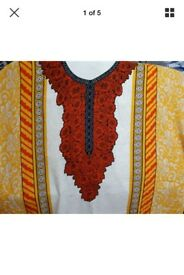 Asian style kurta/kameez unstitched