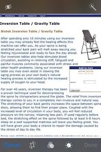 Inversion Table for sale Upper Coomera Gold Coast North Preview