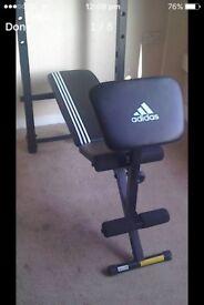 Adidas weight bench