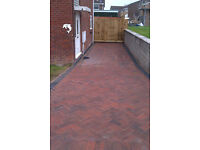 landscape gardening building block paving specialists