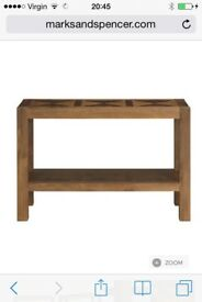 Marks and spencer Bailey hall / console table