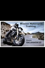MISSION MOTORCYCLE TRAINING          Christmas gift vouchers available Gosnells Gosnells Area Preview
