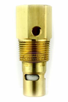 34 Female X 1 Male Npt Brass Air Compressor In Tank Check Valve New