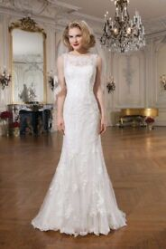 Justin Alexander Lace mermaid wedding dress