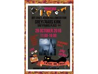 Bohemia Magical Mystical Halloween Arts Craft Design Fair at Greyfriars Kirk