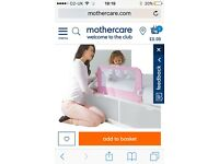 Mothercare girls bed guard
