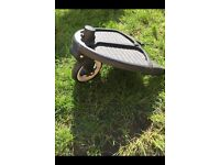 Bugaboo buggy board with donkey adaptor