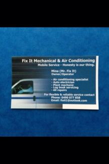 Fix It Mechanical & Air Conditioning  Hamlyn Terrace Wyong Area Preview