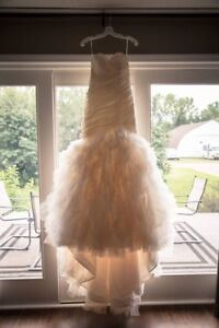 Morilee light gold wedding gown