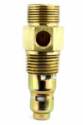 New Brass Air Compressor 12 Male Npt X 58 Compression In Tank Check Valve