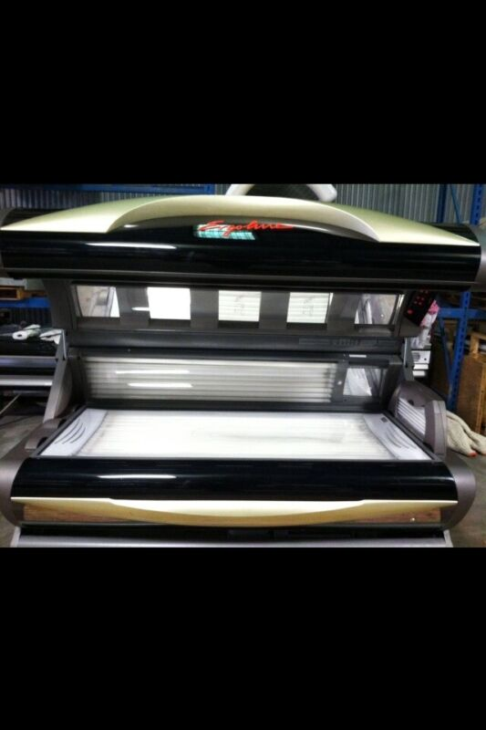 Ergoline 650 12 Min Tanning Bed Level 5 160 Watt Bed With 12 High Pressure Lamps