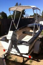 12ft Pongrass boat, 1979 Johnson 25hp Orange Orange Area Preview