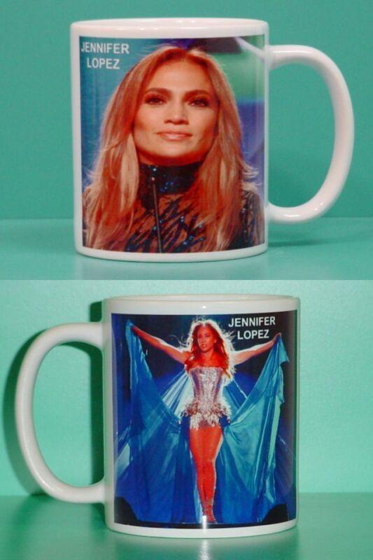 JENNIFER LOPEZ - with 2 Photos - Designer Collectible GIFT Mug