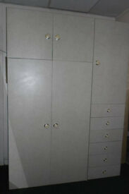 WARDROBE WITH DRAWERS AND STORAGE FOR SALE