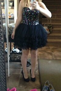 Jeweled Corset Prom/Grad Dress with Shoes