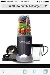 Brand New NutriBullet 1000series Cannington Canning Area Preview