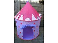 Princess Fairy Castle shaped Pop Up Tent