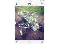 Kawasaki kxf 450 ROAD LEGAL Quad