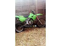 Kx 85 quick sale(not yz rm cr pitbike quad)