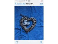 10 x Large Wedding heart decorations (can buy individual hearts for £2)